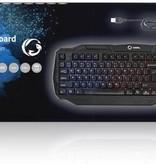 Nedis Dr. Duits - Duitsland indeling Gaming PC toetsenbord - met LED verlichting