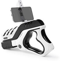 Smartphone Augmented Reality pistool - Multiplayer - Zwart/wit