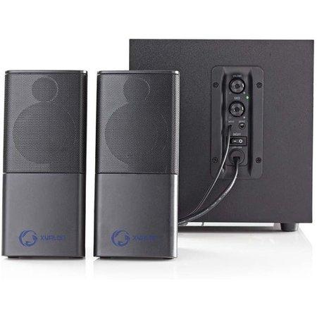 Nedis Dr. Gaming PC luidsprekers 2.1 USB gevoed 11 Watt