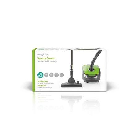 Nedis Dr. Stofzuiger 700 Watt - Zak 3.5 liter inhoud - Groen