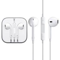iPhone in ear oortjes - oordopjes met Jack 3.5 mm aansluiting Hoge Kwaliteit Wit