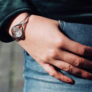 Armband Bergkristal Klassiek Modern