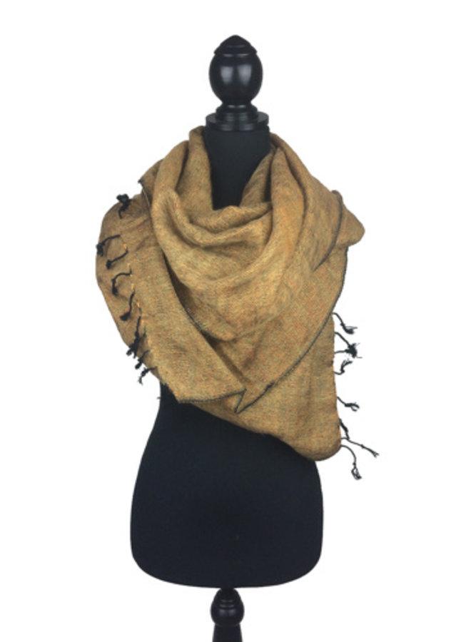 Sjaal goudgeel *Nieuwe kleur*