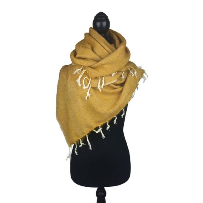 Sjaal maisgeel *Nieuwe Kleur*