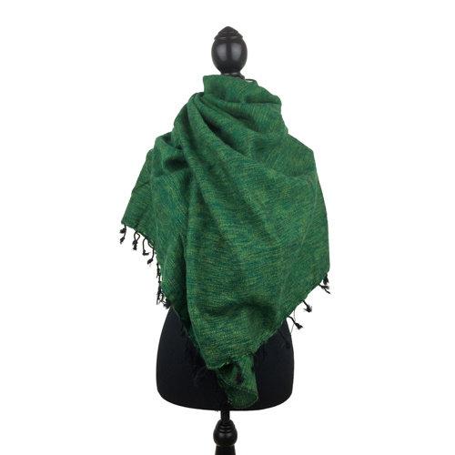Sjaal grasgroen