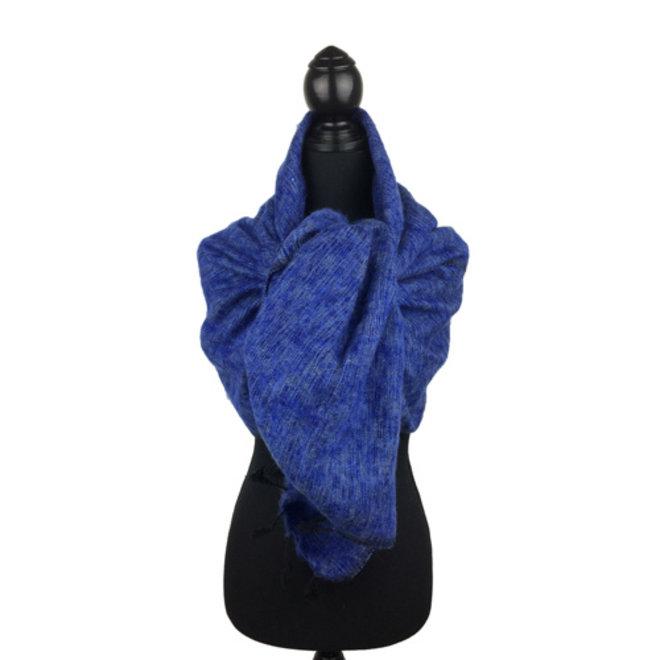 De mooiste kwaliteit sjaals/omslagdoeken uit Nepal! - Jeansblauw
