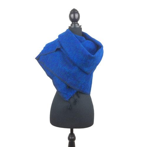 Sjaal koningsblauw