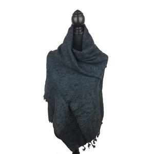 Sjaal antraciet