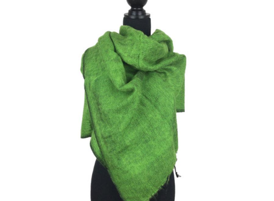 De mooiste kwaliteit sjaals/omslagdoeken uit Nepal! - Felgroen