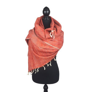 Sjaal koraal *Nieuwe Kleur*