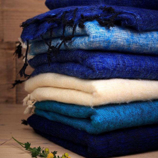 De mooiste kwaliteit sjaals uit Nepal! - Turquoise