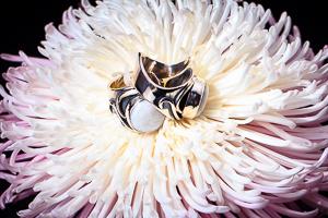 Couple ring maansteen
