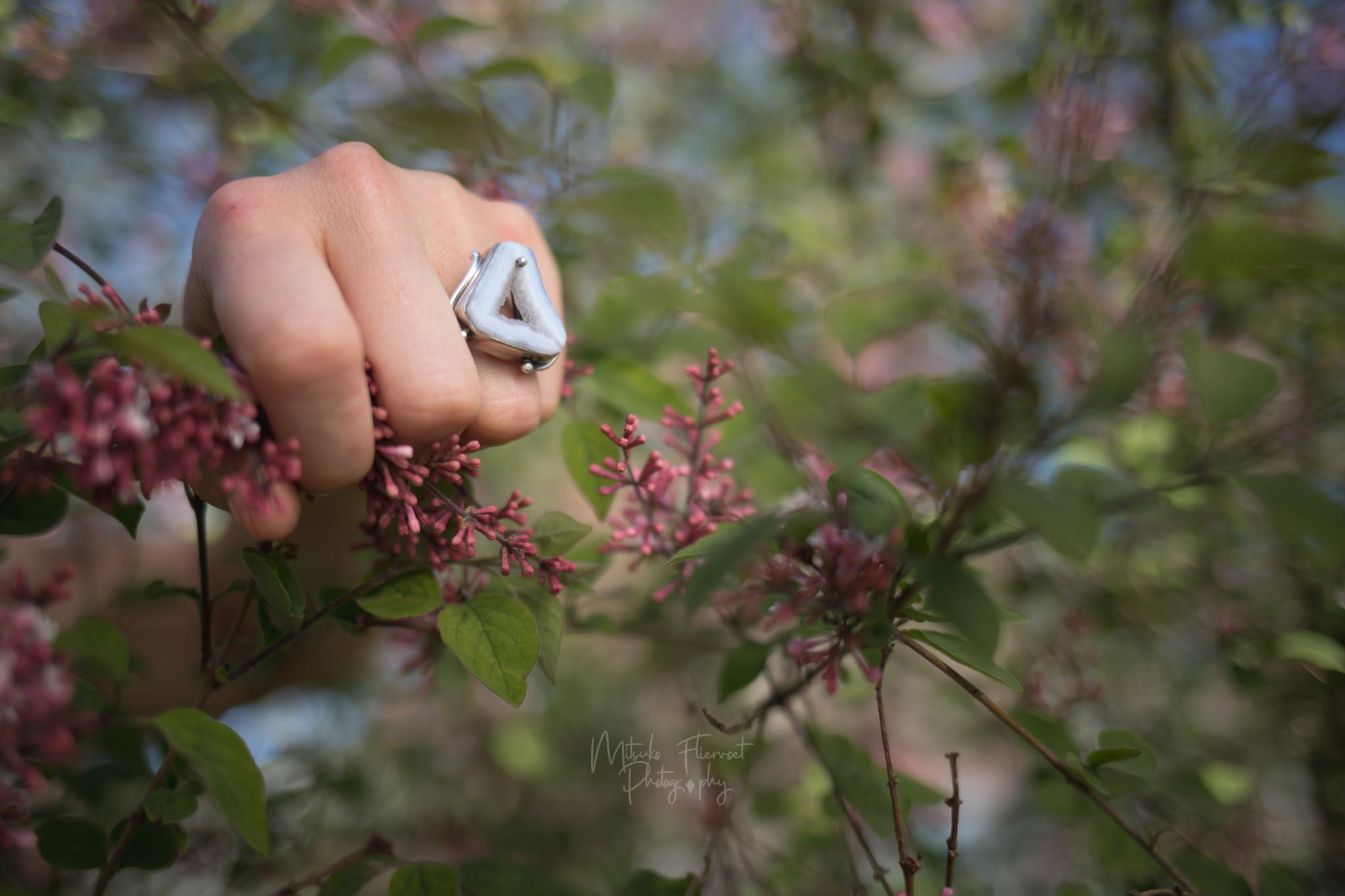 Marjanne Chalcedoon ring