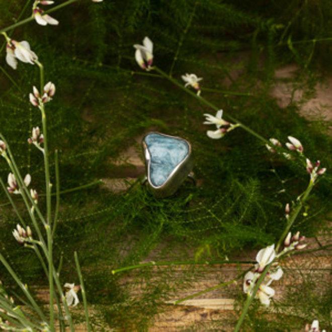 Aquamarijn ring 'Marina'