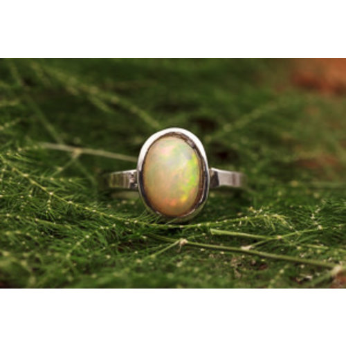 Ring Opaal Ovaal