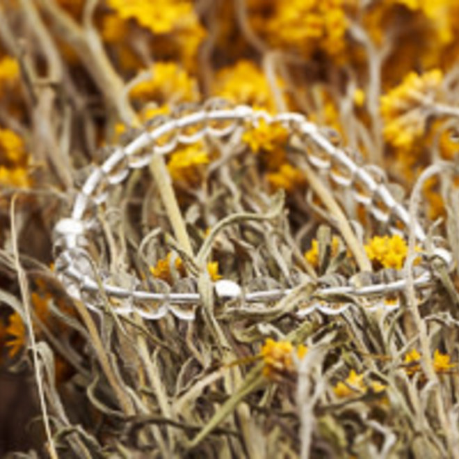 Bergkristal armband 'Lasse'