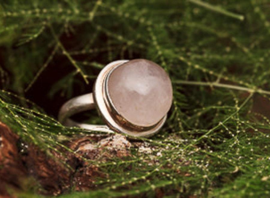 Ring Rozenkwarts Rond