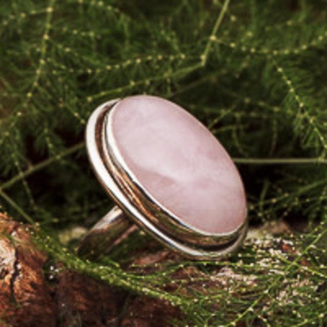 Rozenkwarts ring 'Tsara'