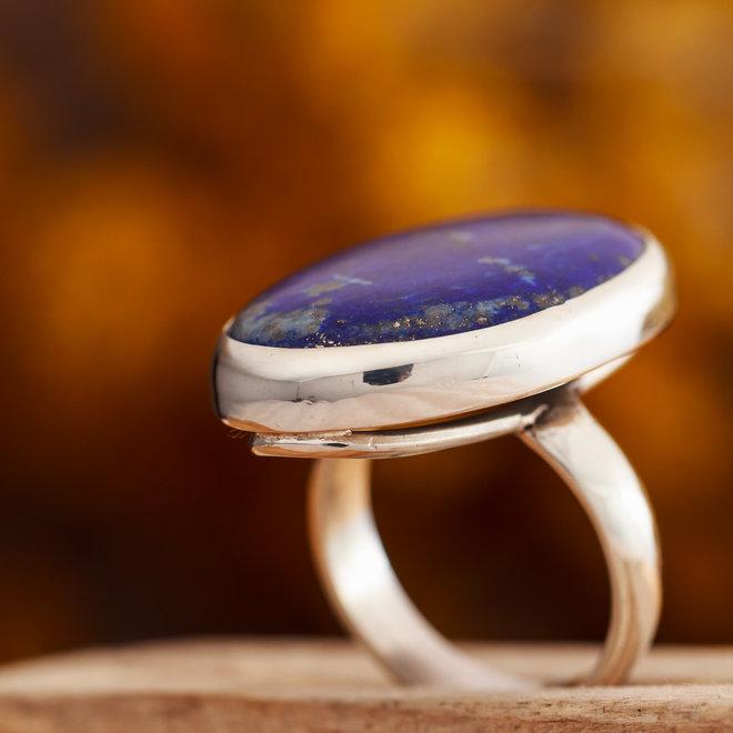 Ring Lapis Lazuli Ovaal