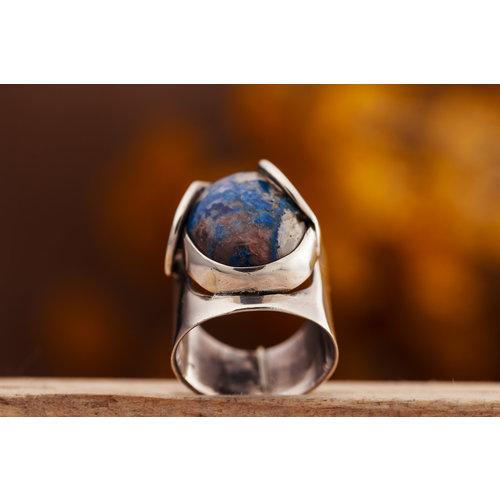 Ring Lapis Lazuli Modern