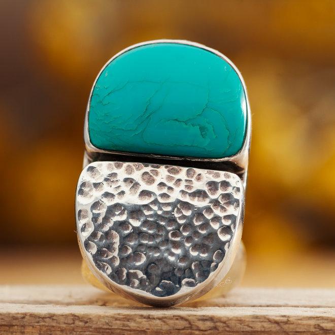 Turkoois ring 'Ductili'