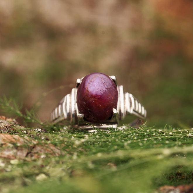 Robijn ring 'Laniatus'