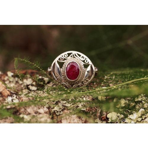 Robijn ring 'Gloria'