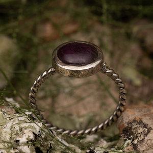 Robijn ring