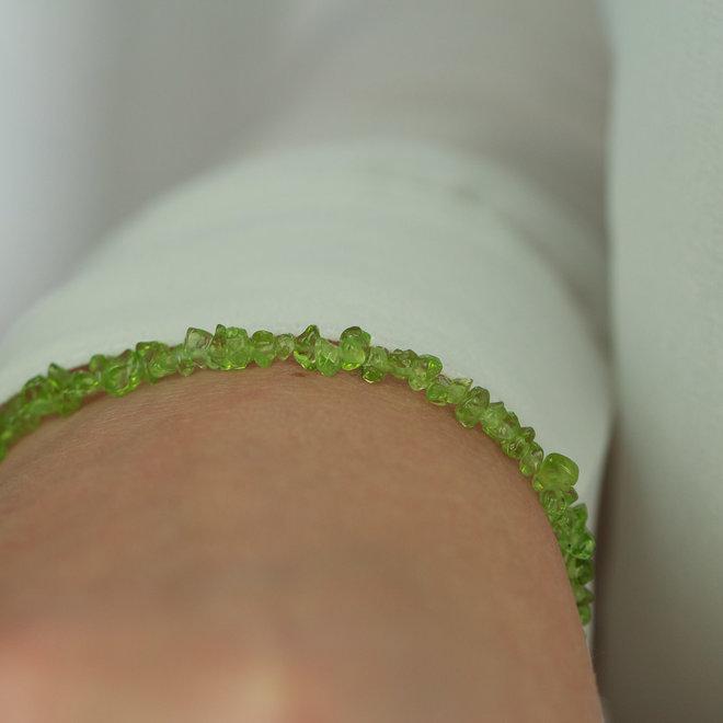 Peridot armband 'Puro'