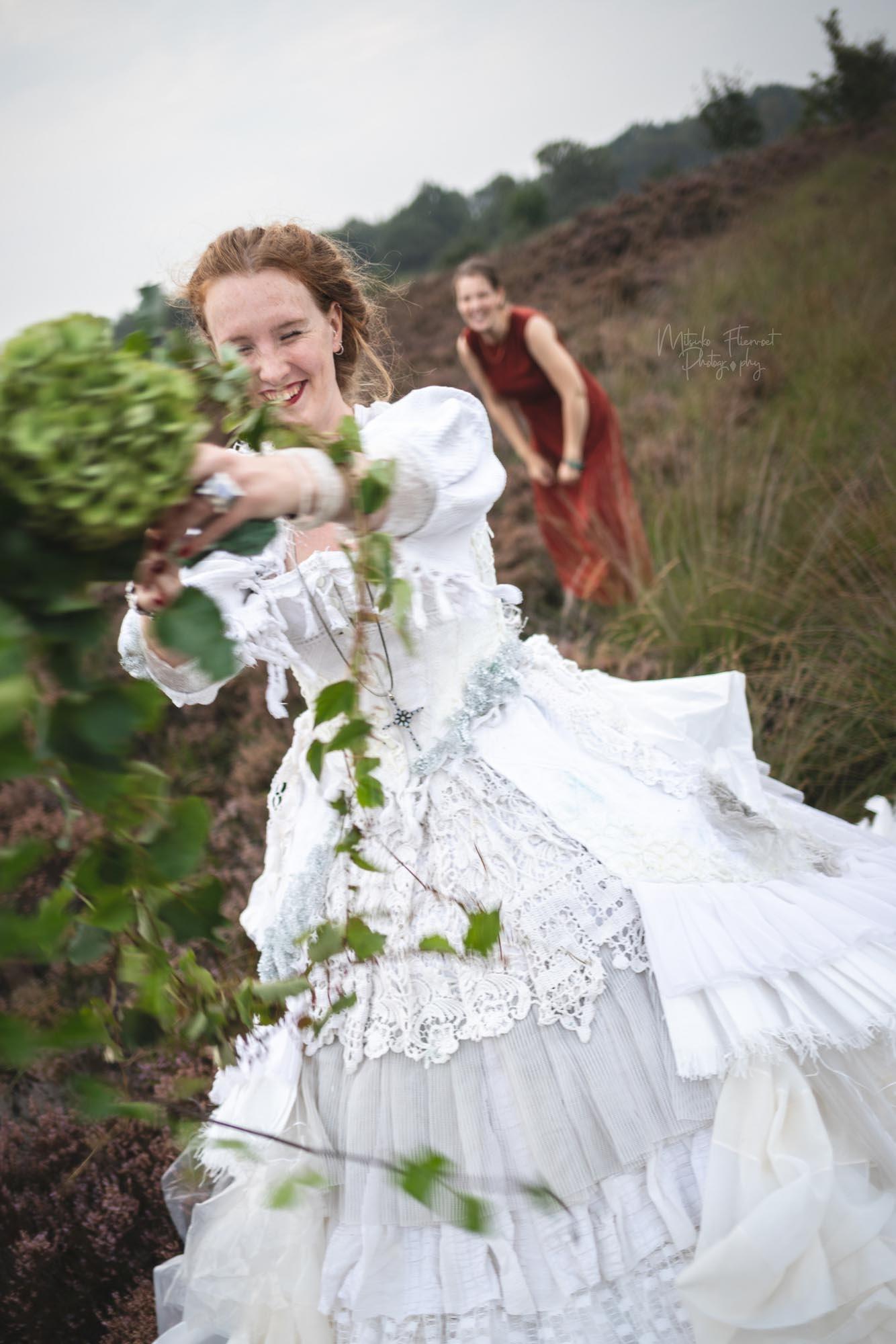 boeket gooien bruid style