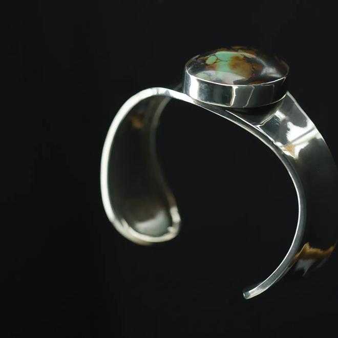 Turkoois armband 'Mercator' gezet in 925 zilver