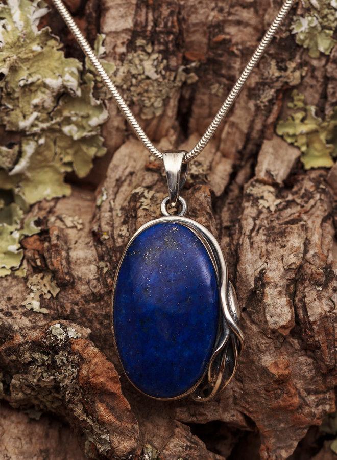 Lapis Lazuli hanger 'Kelk'
