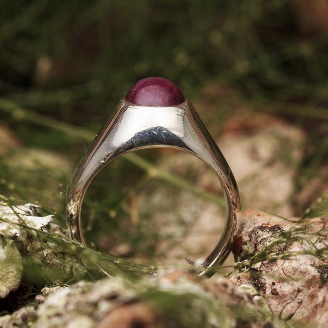 "Robijn Ring ""Rubinus"""
