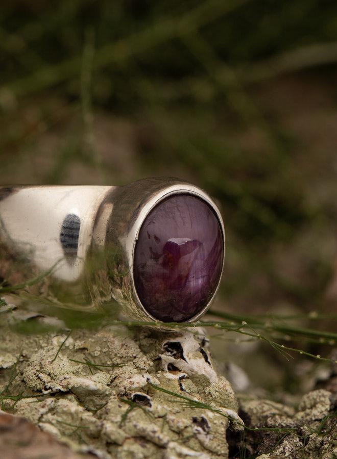 Robijn ring 'Kurand'