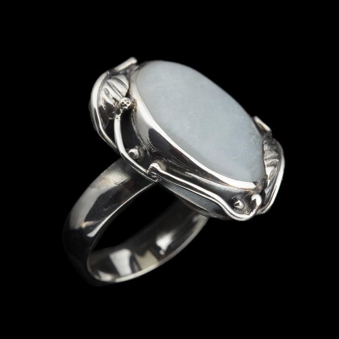 Maansteen ring 'Wisla'