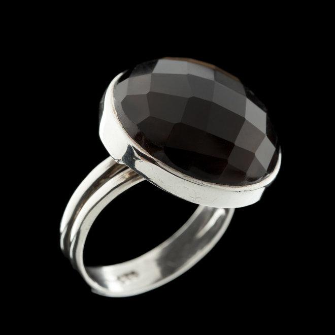 Rookkwarts ring 'Siobhan'