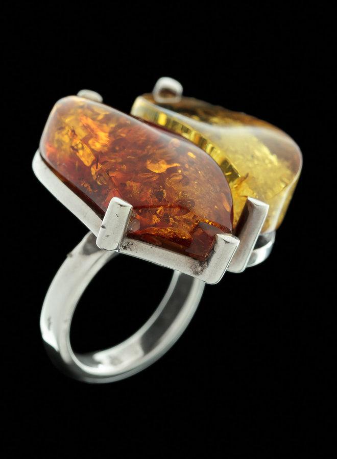 Barnsteen ring 'Duplo'