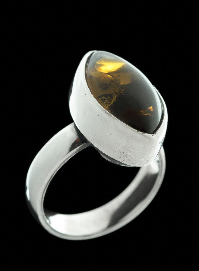 Barnsteen ring 'Elli'