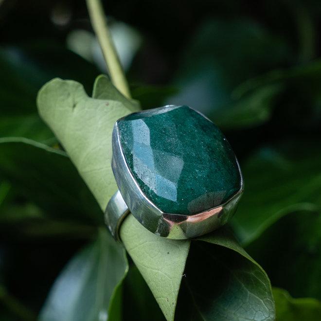 Aventurijn ring 'Verde'