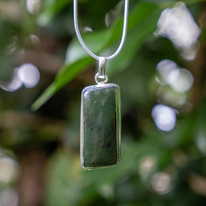 Jade hanger 'Tikal'