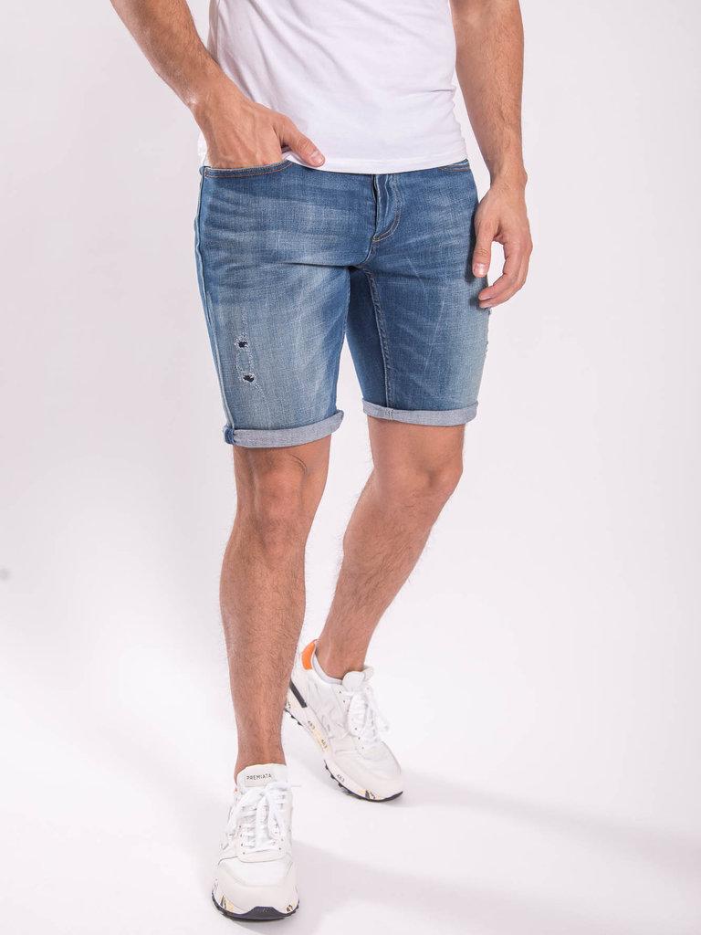 bd14c8c0 DENHAM Razor shorts baltic - slim fit Blue - Strictly for Men Heerlen