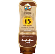 Australian Gold SPF 15 Tělové mléko s bronzerem