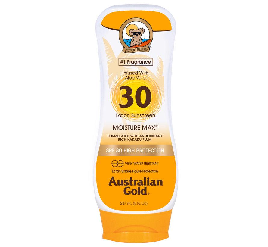 SPF 30 Tělové mléko bez bronzeru- sluneční ochrana