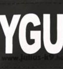 Julius k9 Julius k9 labels voor power-harnas/tuig bodyguard