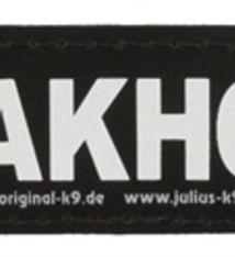 Julius k9 Julius k9 labels voor power-harnas/tuig waakhond
