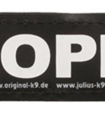 Julius k9 Julius k9 labels voor power-harnas/tuig sloper
