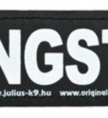 Julius k9 Julius k9 labels voor power-harnas / tuig gangster