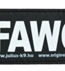 Julius k9 Julius k9 labels voor power-harnas / tuig sofawolf