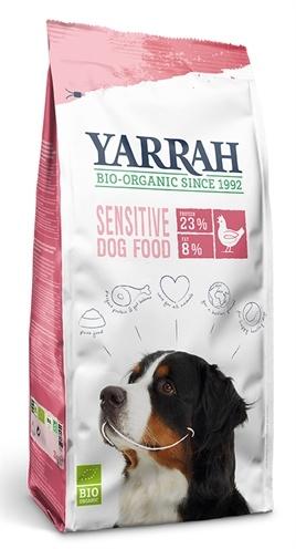 Yarrah Yarrah dog biologische brokken sensitive kip zonder toegevoegde suikers