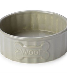 House of paws House of paws voerbak hond woof bot taupe